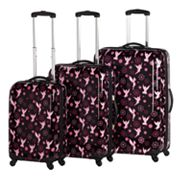 Disney Fairies by Heys USA Luggage, 3-pc. Flower Luggage Set