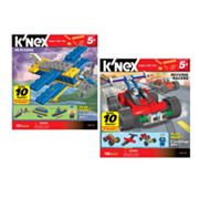 K'NEX Revving Racers and Hi-Flyers Building Set