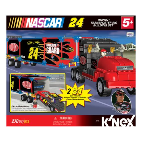 NASCAR Jeff Gordon Transport Rig Building Set by K'NEX