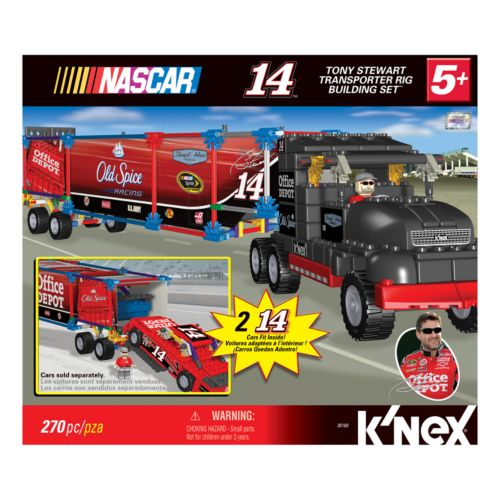 NASCAR Tony Stewart Transport Rig Building Set by K'NEX