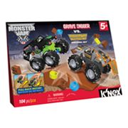 Monster Jam Grave Digger vs. Maximum Destruction Building Set by K'NEX