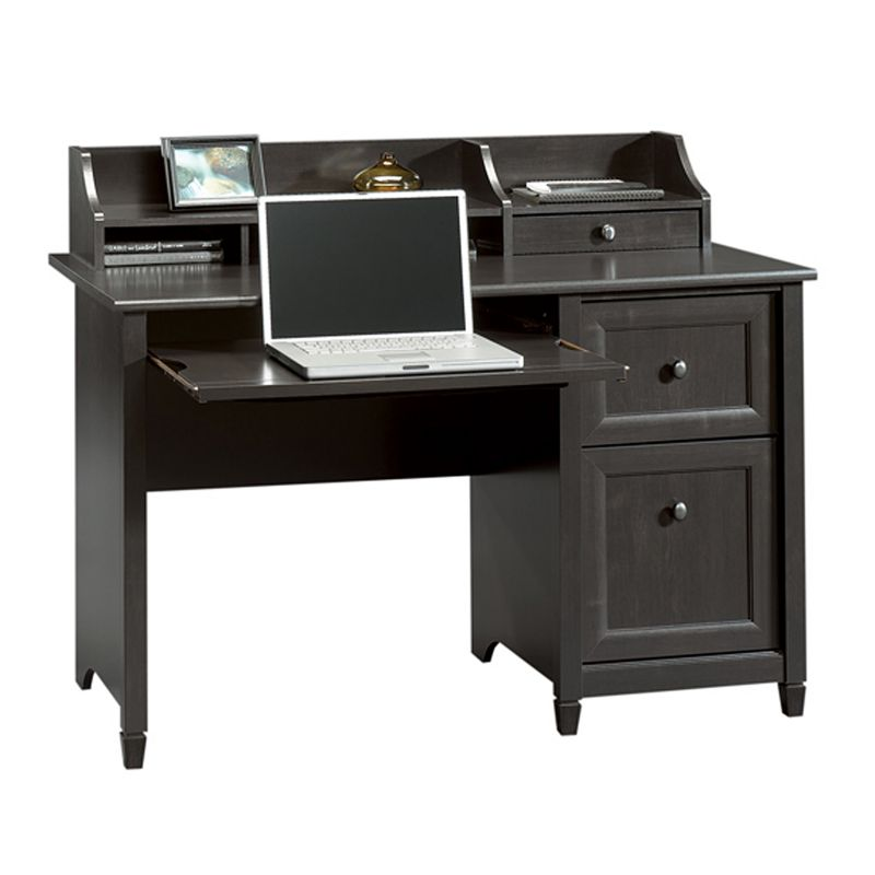 Sauder Edge Water Computer Desk, Black