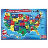Melissa & Doug USA Map Floor Puzzle