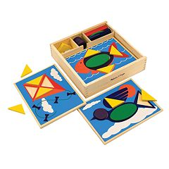 Melissa & Doug Beginner Pattern Block Set