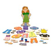 Melissa and Doug Maggie Leigh Magnetic Dress-Up Set