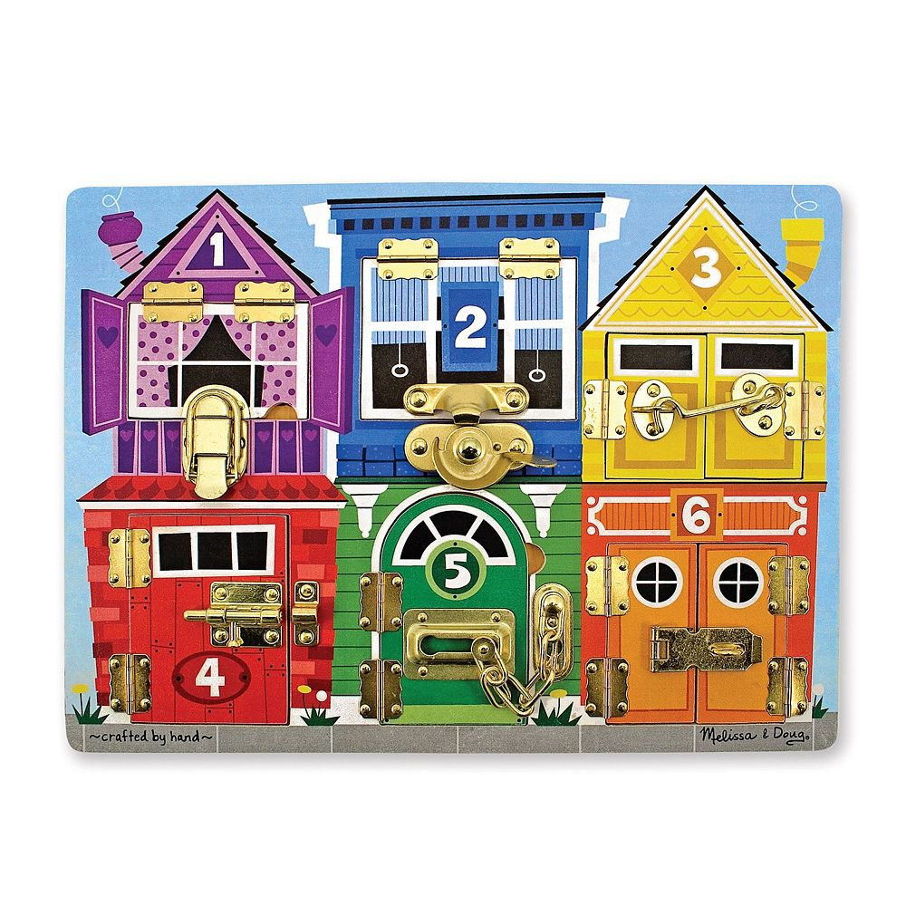 Melissa & Doug Latches Board Puzzle