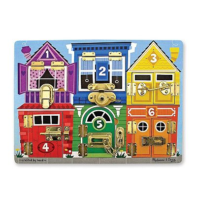 Melissa and Doug Latches Board Puzzle