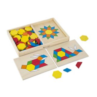 Melissa and Doug Pattern Blocks and Boards