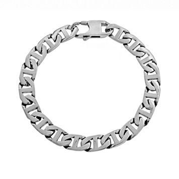 LYNX Stainless Steel Mariner Chain Bracelet - Men