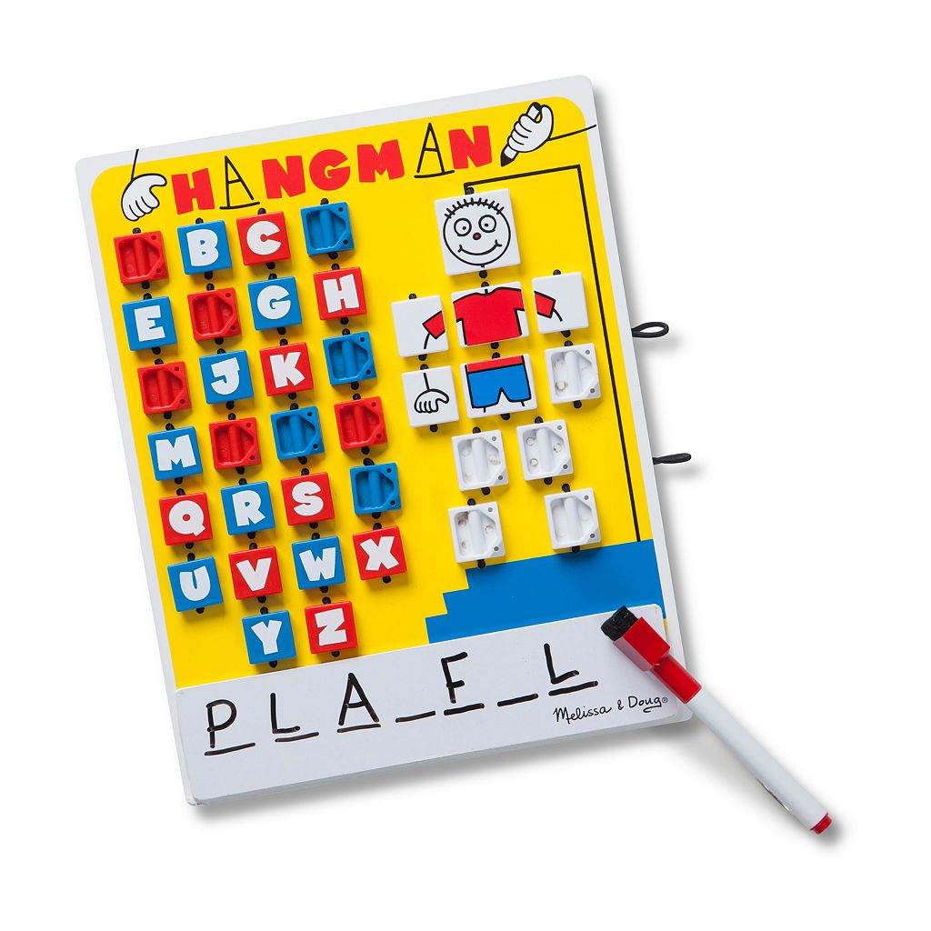Melissa & Doug Flip To Win Hangman Game