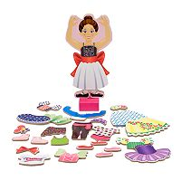 Melissa & Doug Nina Ballerina Magnetic Dress-Up Set
