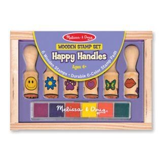Melissa and Doug Happy Handle Stamp Set