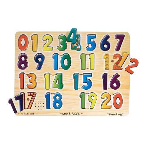 Melissa & Doug Numbers Sound Puzzle