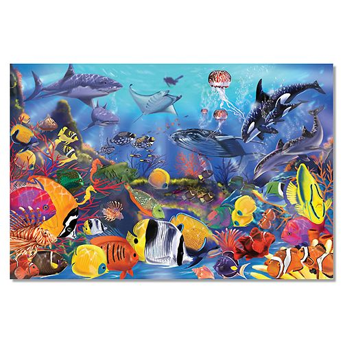 Melissa Amp Doug Underwater Floor Puzzle