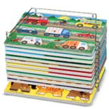 Melissa & Doug Single Wire Puzzle Rack