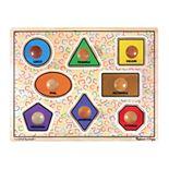 Melissa & Doug Large Shapes Jumbo Knob Puzzle