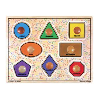 Melissa and Doug Large Shapes Jumbo Knob Puzzle