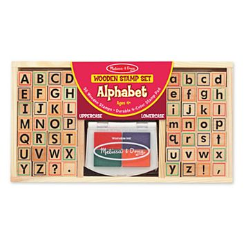 Melissa & Doug Alphabet Stamp Set