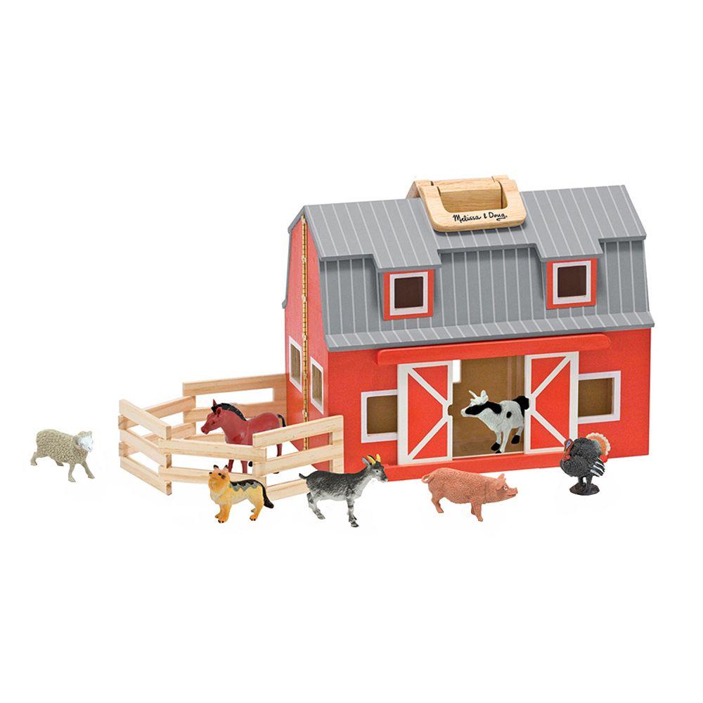 Melissa Doug Fold Go Barn