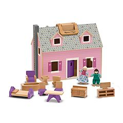 Melissa & Doug Fold & Go Mini Dollhouse