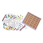 Melissa and Doug Wooden Stringing Beads Set