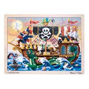 Melissa & Doug 48 pc Pirate Adventure Jigsaw Puzzle