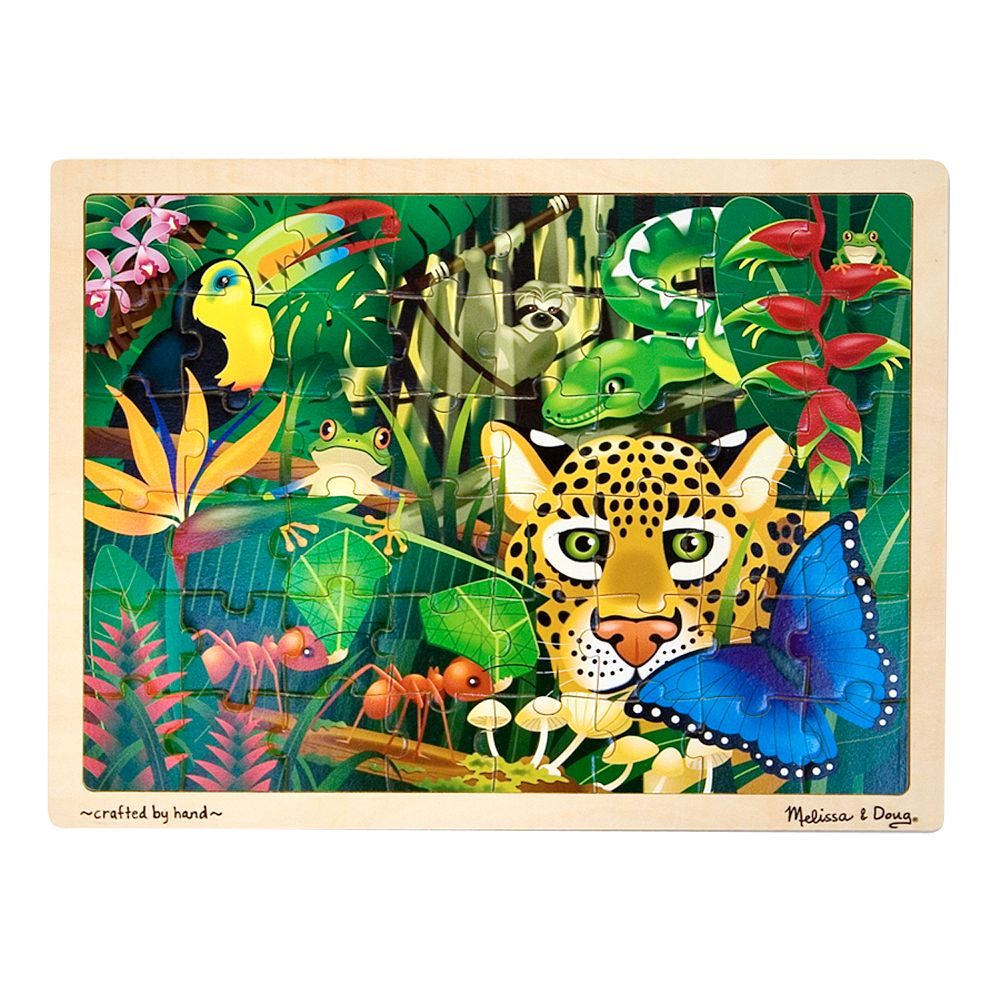 Melissa & Doug 48-pc. Rainforest Jigsaw Puzzle