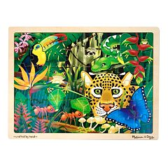 Melissa & Doug 48 pc Rainforest Jigsaw Puzzle