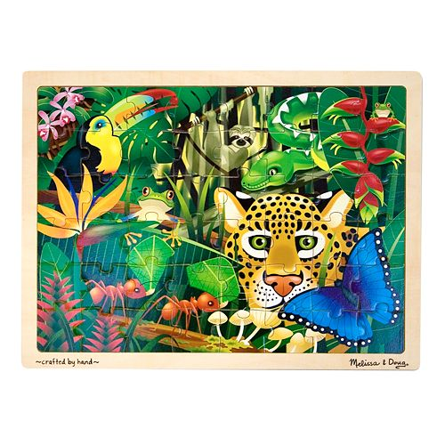 Melissa & Doug 48-pc. Rainforest Jigsaw Puzzle