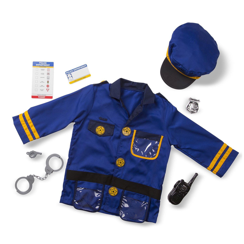sc 1 st  Kohlu0027s & Melissa u0026 Doug Police Officer Costume - Kids