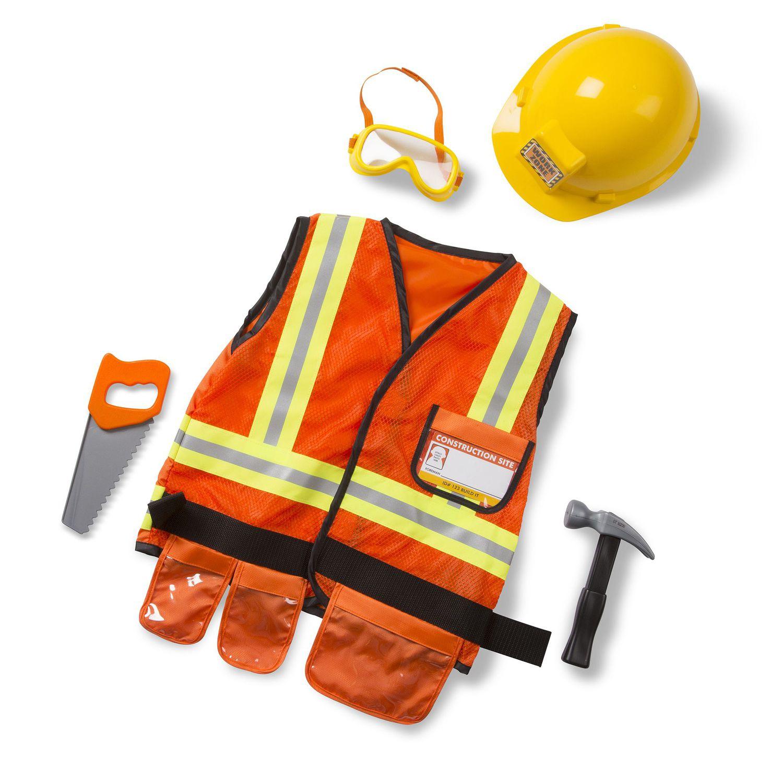 sc 1 st  Kohlu0027s & Melissa u0026 Doug Construction Worker Costume - Kids