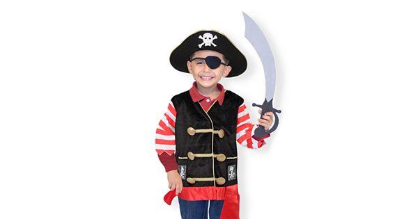 Melissa And Doug Pirate Costume
