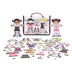 Melissa & Doug Tops & Tights Magnetic Dress-Up Set
