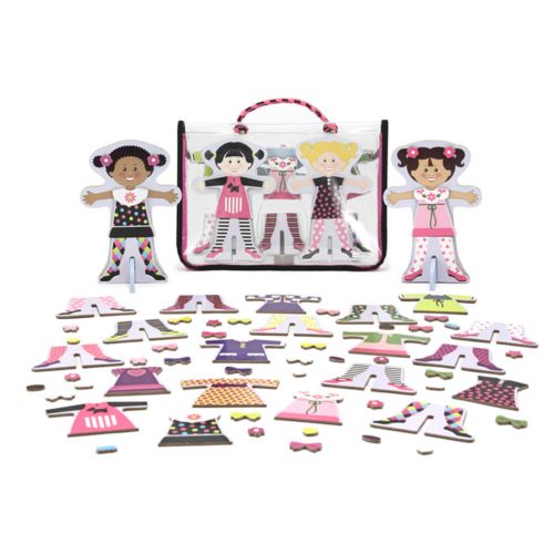 Melissa and Doug Tops and Tights Magnetic Dress-Up Set