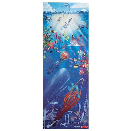Melissa & Doug 100-pc. Under the Sea Floor Puzzle