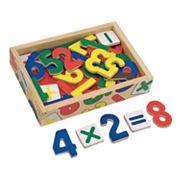 Melissa & Doug Magnetic Wooden Numbers Set