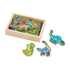 Melissa & Doug Magnetic Wooden Dinosaur Set
