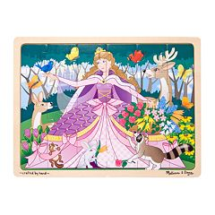 Melissa & Doug Woodland Princess Jigsaw Puzzle