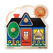 Melissa and Doug First Shapes Jumbo Knob Puzzle
