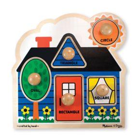 Melissa and Doug First Shapes Jumbo Knob Puzzle