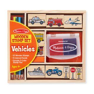 Melissa and Doug Vehicles Stamp Set