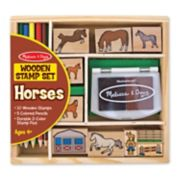 Melissa & Doug Horses Stamp Set