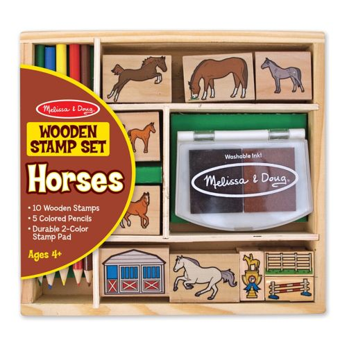 Melissa and Doug Horses Stamp Set