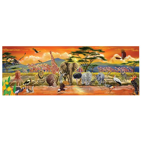Melissa & Doug 100-pc. Safari Floor Puzzle