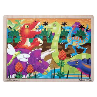 Melissa and Doug 24-pc. Dinosaur Sunset Jigsaw Puzzle