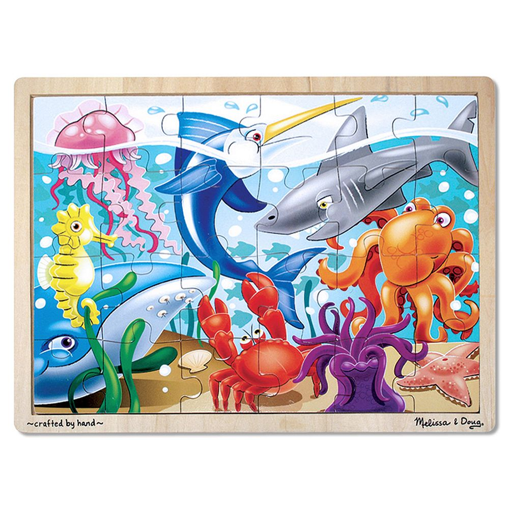 Melissa & Doug 24-pc. Under the Sea Jigsaw Puzzle
