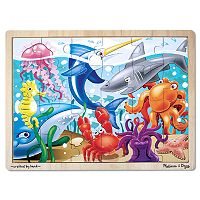 Melissa & Doug 24 pc Under the Sea Jigsaw Puzzle