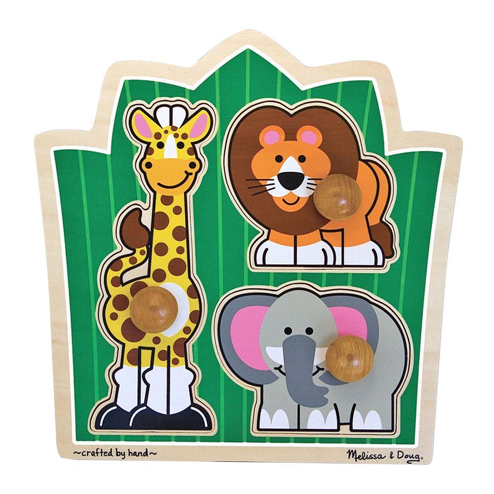 Melissa & Doug Jungle Friends Jumbo Knob Puzzle