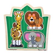 Melissa and Doug Jungle Friends Jumbo Knob Puzzle