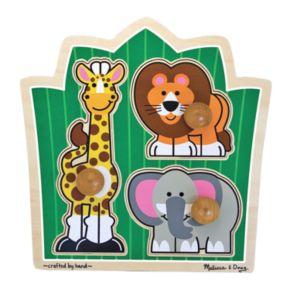 Melissa and Doug Jungle Friends Jumbo Knob Puzzle